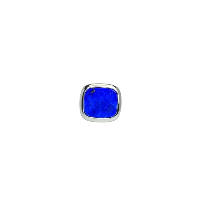 Square Lapis Lazuli Tie Tac